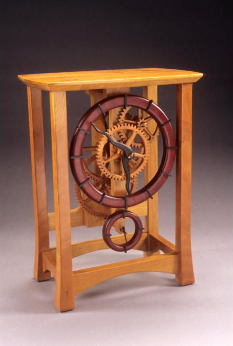 Wood Gear Clock